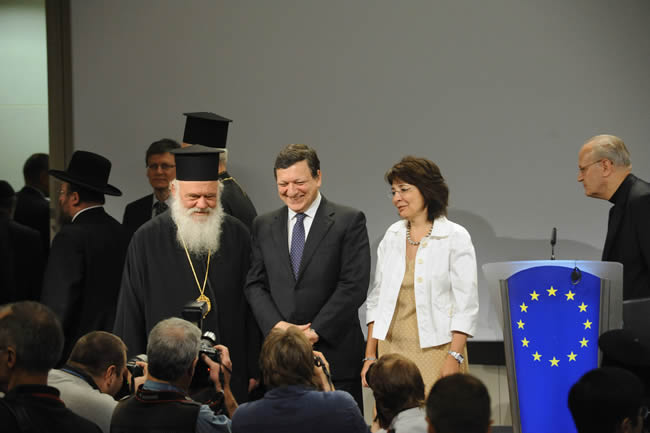 19/07/2010: Religious leaders at the EC