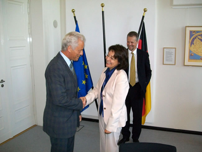 03/09/2010: Meeting between Commissioner Damanaki and Federal Minister Ramsauer