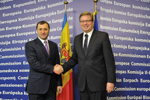 Meeting with Vladimir Filat, Prime Minister of the Republic of Moldova