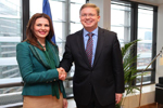 Meeting with Kosovo Minister for EU Integration Ms Vlora Citaku