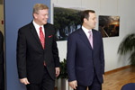 Meeting with Prime Minister of the Republic of Moldova Vlad Filat