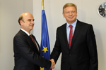 Meeting  with Edmond Panariti, Minister of Foreign Affairs of Albania