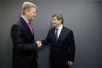 EU-Turkey: With Minister Davutoğlu about new momentum in mutual relations