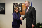EU-Turkey: With Minister Şahin about progress on women's rights