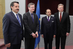 EU-Turkey: With Ministers Bağış and Çelik  about Social Policy and employment