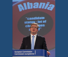EU-Albania: Commissioner Füle visits Tirana on 6 March for High Level Dialogue