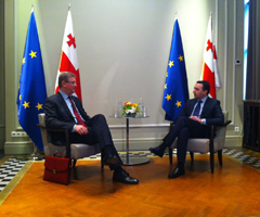 EU-Georgia: Clear mesaage of support for reforms and Association Agreement