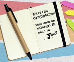 """What does an enlarged EU mean to you?"" The EU engages young people through a writing competition on EU enlargement"
