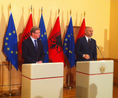 EU-Albania: Commissioner Füle for 4th round of High Level Dialogue in Tirana on Monday