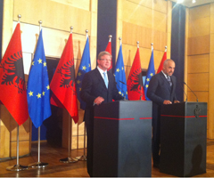 EU-Albania: EU integration must be inclusive, responsibility on government and opposition