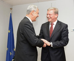 EU-Turkey: Meeting with Minister V.Bozkir in Brussels