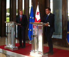 Remarks to the press by Commissioner Štefan Füle following the meeting with Georgian President Mikheil Saakashvili in Tbilisi