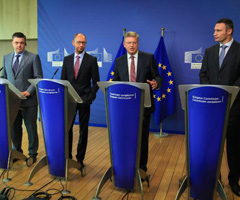 Ukraine: With opposition leaders on European reforms