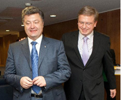 Ukraine: With P.Poroshenko about Association Agreement and reforms