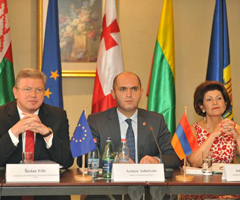 Commissioners Füle and Vassiliou set for talks with Eastern Partnership Ministers in Yerevan
