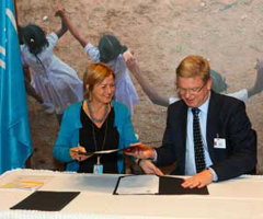 Additional €34 million contribution to Syria's children, as EU becomes largest donor to UNICEF