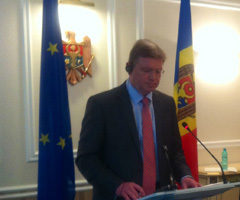 Š.Füle in Moldova: Bilateral meetings and discussions with EaP Civil Society