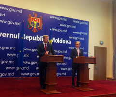 Moldova: With Prime Minister I. Leancă about Association Agreement and remaining challenges