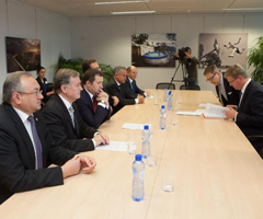 Moldova: with leaders of coalition parties on strengthening the EU agenda