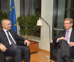 EU-Albania: With I.Meta on cross-party cooperation in parliament
