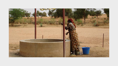 Water is scarce in Burkina Faso, where drought has raised malnutrition and hunger © EU