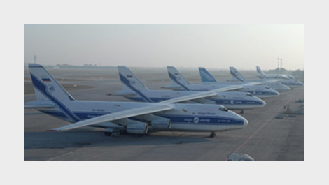 Cargo planes at an airport © EU