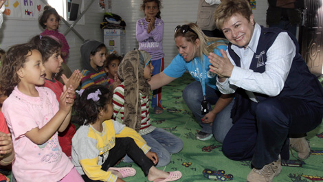 Commissioner Georgieva in Jordan and Lebanon to announce fresh humanitarian funding and visit refugees