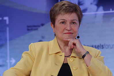 "Commissioner Georgieva addresses the ""Conference Nationale Humanitaire"""