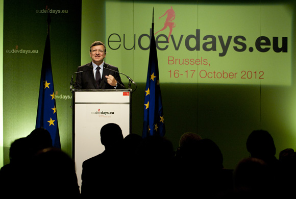 José Manuel Barroso, President of the European Commission at the opening ceremony