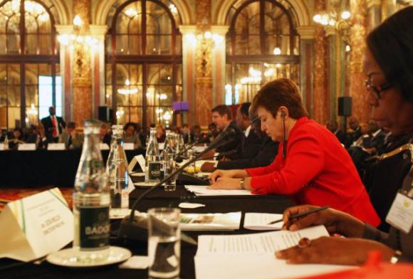 Kristalina Georgieva participates in the Round Table on a Financing Plan for the Economic and Social Development of Niger 2012-2015 in Paris
