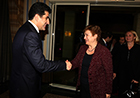 As part of her visit to Iraq, Commissioner Georgieva visited Erbil to meet with the Kurdish government