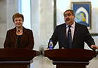 In Iraq, Commissioner Georgieva meet with Iraqi Minister of Foreign Affairs Mr Hoshyar Zebari
