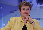 Commissioner Georgieva participates in Brussels Forum organised by the German Marshall Fund of the United States