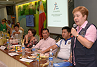 Commissioner Georgieva emphasised preparedness for such major disasters and congratulated the resilience of people affected by Typhoon Haiyan.