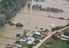 Areal view of flooded areas near Galati city – Romania, 09/07/2010 © EU