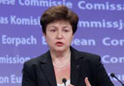 Commissioner Kristalina Georgieva reneuws EU's commitment with Haiti one year after the earthquake - Brussels, 11/01/2011