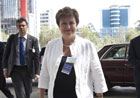 Kristalina Georgieva met Meles Zenawi, Ethiopian Prime Minister and Chairman of the Executive Committee of the New Partnership for Africa's Development (NEPAD) © EU