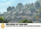 Refugees trapped on Myanmar border
