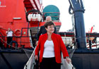 Commissioner Georgieva in Lisbon, during her visit to EMSA – 14/10/2010