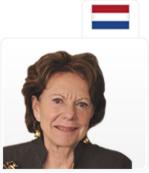 Neelie Kroes Comisaria de la Agenda Digital de la Unión Europea