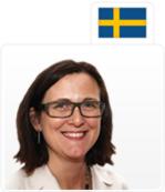 Cecilia Malmström © Gunnar Seijbold/Swedish Government Offices, Suède