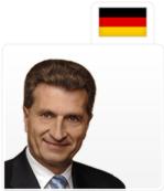 Günther Oettinger, Allemagne