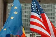 EU and USA flag