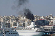 Port and pollution