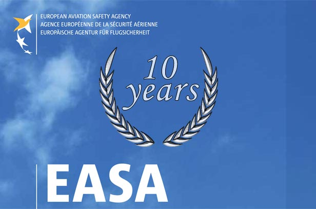 EASA 10th years logo