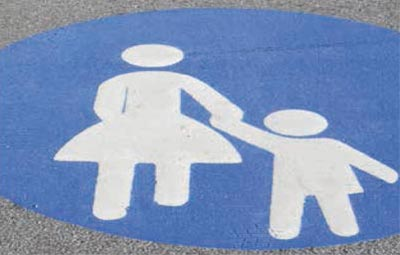 Mother and child sign