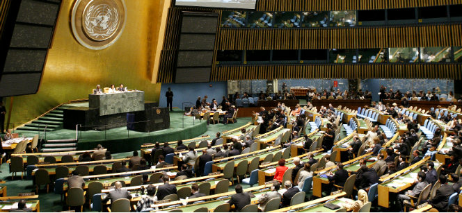 The U.N. General Assembly Hall. Photo: U.N. Photo