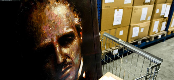 Artwork confiscated from criminals by the Dutch confiscation authority. Photo: European Union