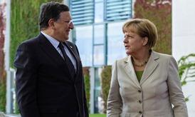 President Barroso and Chancellor Merkel © EU