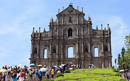 Cathedral of Saint Paul in Macau © Commons